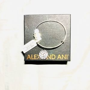 NWT Alex and Ani Volleyball bracelet